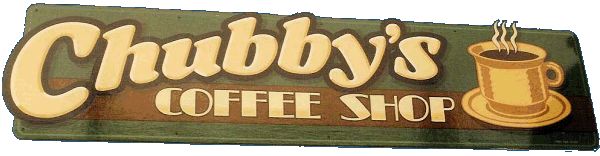 Chubby's Coffee Shop | painted shop fascia
