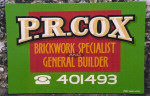 PR Cox Brickwork Specialist and General Builder