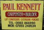 Paul Kennett, Carpenter and Builder